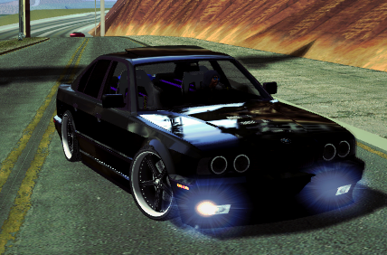 Screenshot BMW M5 e34