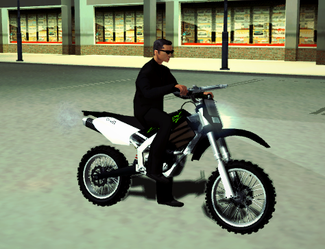 Screenshot GTA IV Sanchez